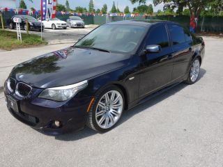 2009 Bmw 550i W / Sport Pack Navi Sunrrof Logic7 Audio Xenon Sirius photo