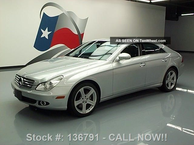 2008 Mercedes - Benz Cls550 Vent Seats 43k Mi Texas Direct Auto CLS-Class photo
