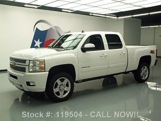 2013 Chevy Silverado 2500hd Ltz Crew Z71 4x4 Diesel Texas Direct Auto photo