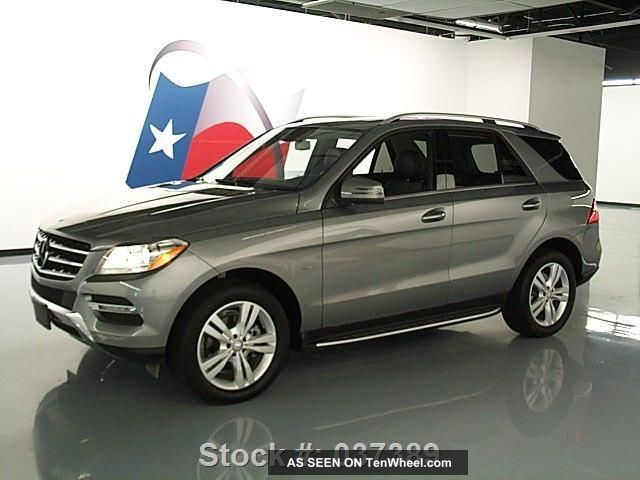 2012 mercedes benz ml350 4matic awd only 5k texas direct for Mercedes benz ml350 4matic 2012
