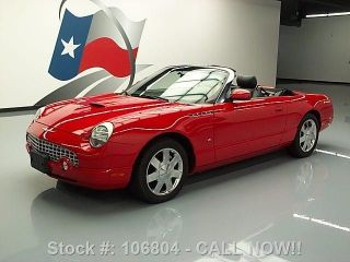 2003 Ford Thunderbird Premium Hard Top Htd 39k Texas Direct Auto photo