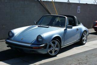 1980 Porsche 911 Sc Targa photo