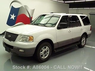 2003 Ford Expedition V8 8pass Roof Rack 85k Mi Texas Direct Auto photo