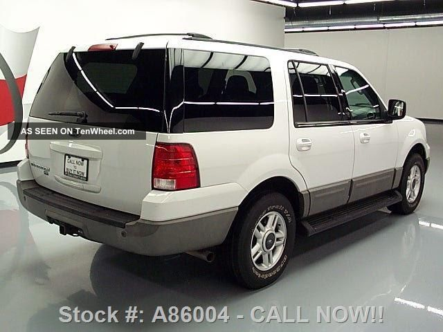 2003 Ford Expedition V8 8pass Roof Rack 85k Mi Texas