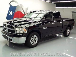2013 Dodge Ram Slt Quad V8 6 - Passenger Bedliner 21k Mi Texas Direct Auto photo