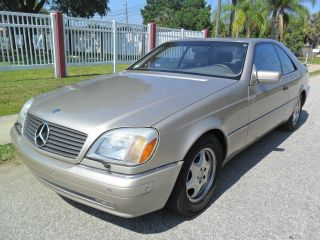 1997 Mercedes S500 Coupe 1 - Owner Car We Best Deal photo