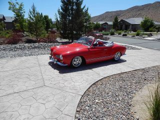 Stunning 1968 Karmann Ghia Convertible Hot Vws Cover Car 1904 Engine Fuchs photo