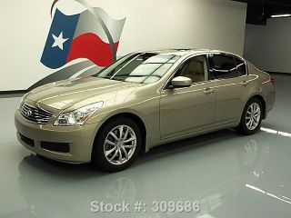 2009 Infiniti G37 Journey Rearview Cam 27k Texas Direct Auto photo