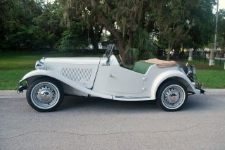 1953 Mg Td - Frame Off Restoration photo