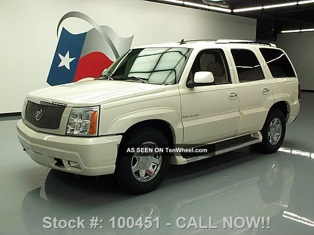 2006 Cadillac Escalade 7 - Pass Htd 63k Texas Direct Auto Escalade photo