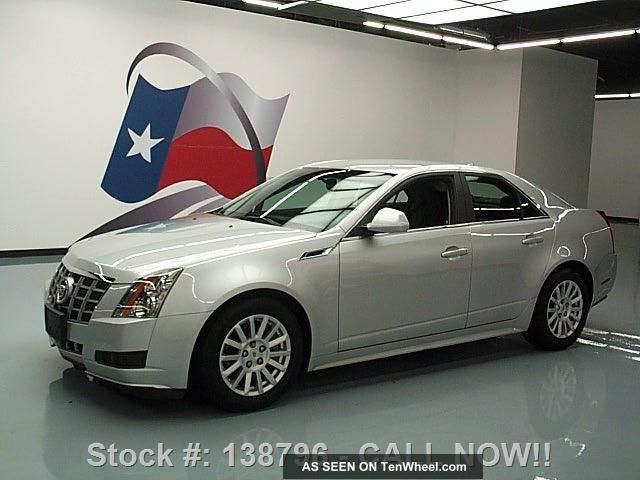 2012 Cadillac Cts Cruise Ctrl Alloy Wheels 18k Texas Direct Auto CTS photo