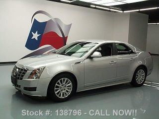 2012 Cadillac Cts Cruise Ctrl Alloy Wheels 18k Texas Direct Auto photo