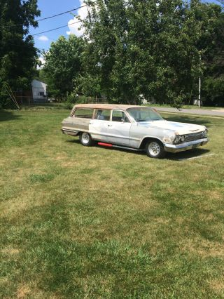 1963 Chevrolet Biscayne Station Wagon Rat Rod photo