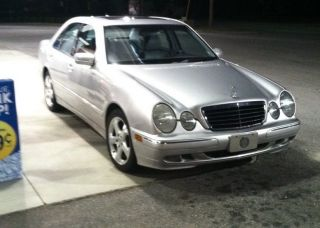 2002 Silver Mercedes E320 Special Edition photo
