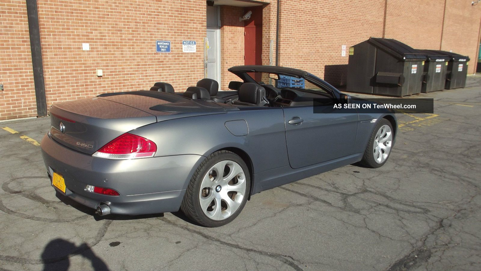 2005 bmw 645ci 645 ci convertible financing available. Black Bedroom Furniture Sets. Home Design Ideas