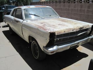 1966 Ford Fairlane 2 Door Sedan - Project photo
