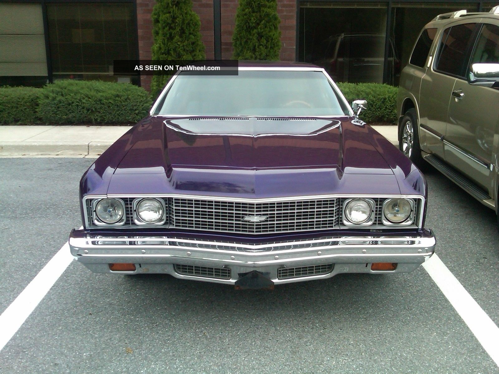 1973 Chevy Impala Custom Coupe Candy Purple Paint