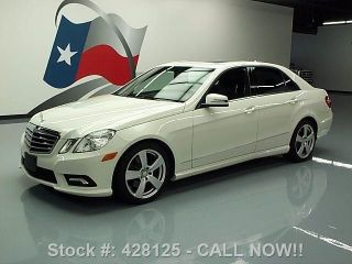 2011 Mercedes - Benz E350 Sport 4matic Awd P1 25k Texas Direct Auto photo