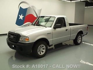 2009 Ford Ranger Reg Cab Auto Bedliner Tow Hitch 46k Mi Texas Direct Auto photo