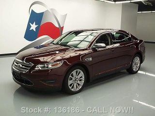 2012 Ford Taurus Ltd Awd Rearview Cam 19 ' S 46k Texas Direct Auto photo