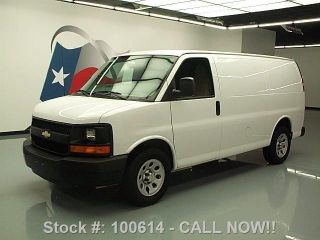 2013 Chevy Express Cargo Van V6 Air Conditioning 25k Mi Texas Direct Auto photo