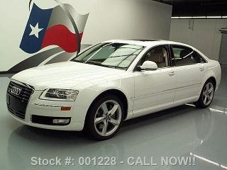2008 Audi A8 L Quattro Awd 16k Mi Texas Direct Auto photo
