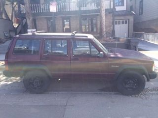 1993 Jeep Cherokee Base Sport Utility 4 - Door 4.  0l photo