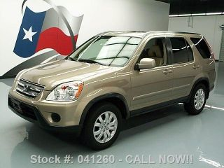2005 Honda Cr - V Se Awd Htd Alloy Wheels Texas Direct Auto photo