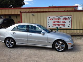 2005 Mercedes C230 Kompressor Sport 4dr Silver photo