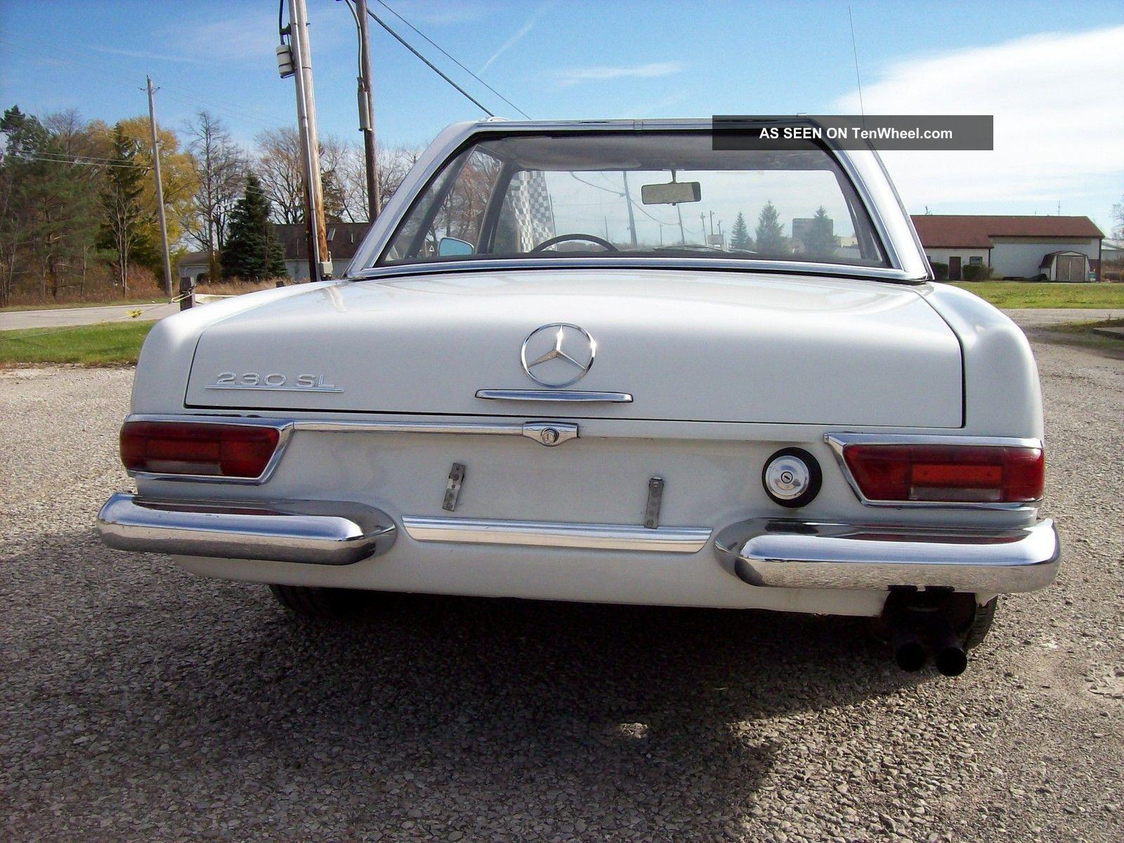 1966 mercedes benz 230sl four speed very for Mercedes benz 230 sl