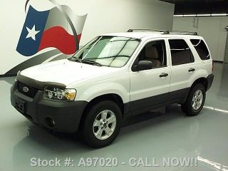 2005 Ford Escape Xlt Awd Cruise Control Roof Rack 91k Texas Direct Auto photo