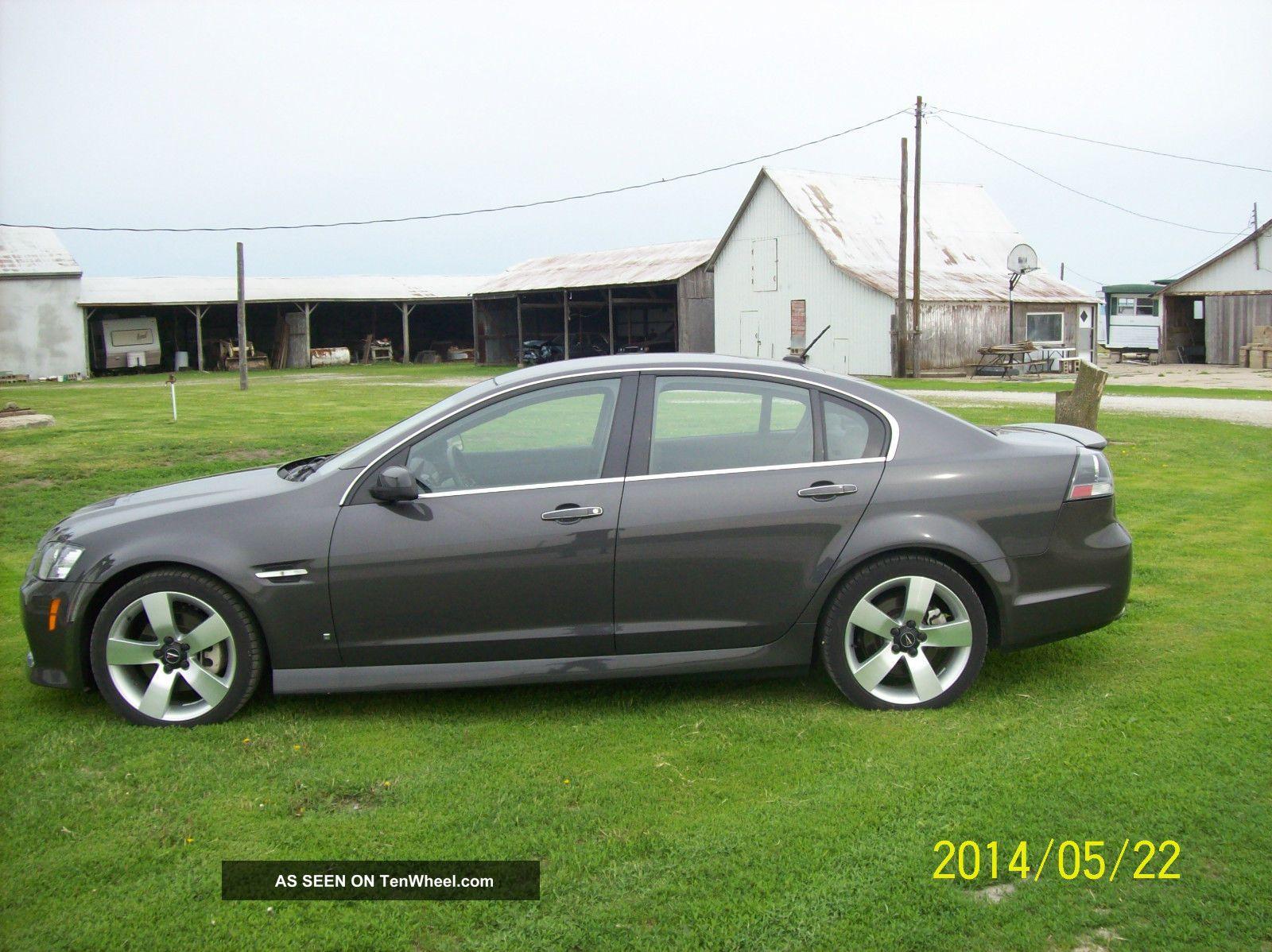 2008 Pontiac G8 Gt Sedan 4 Door 6 0l