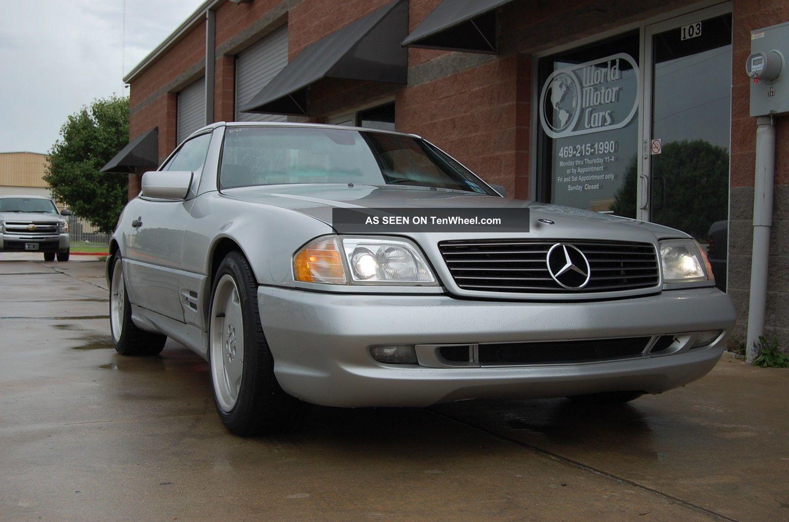 1998 Mercedes Sl500 Sport Hardtop Convertible SL-Class photo