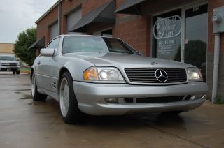 1998 Mercedes Sl500 Sport Hardtop Convertible photo