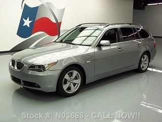 2007 Bmw 530xi Wagon Awd Pano 78k Mi Texas Direct Auto photo