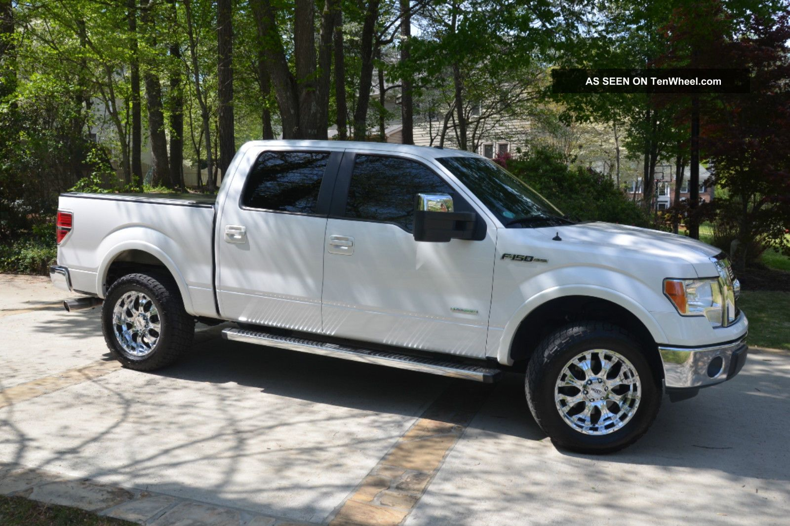 Ford F  Lariat Crew Pickup  L Ecoboost Max Trailer Tow