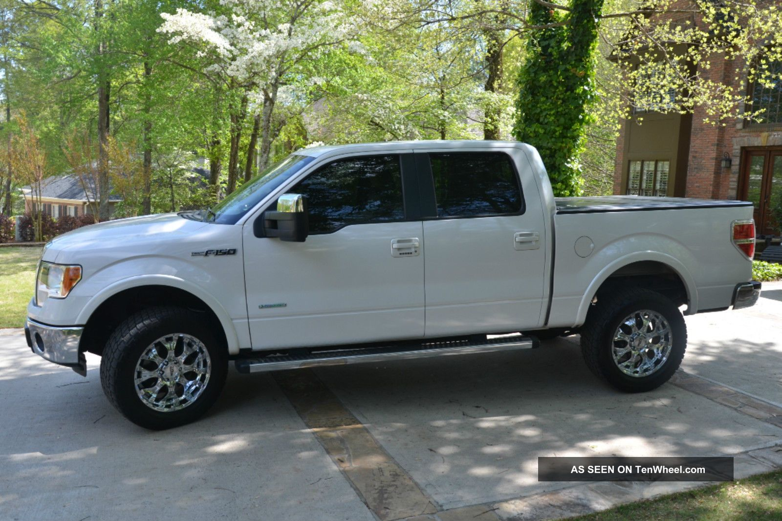 2011 ford f 150 lariat crew pickup 4 door 3 5l ecoboost max trailer tow. Black Bedroom Furniture Sets. Home Design Ideas