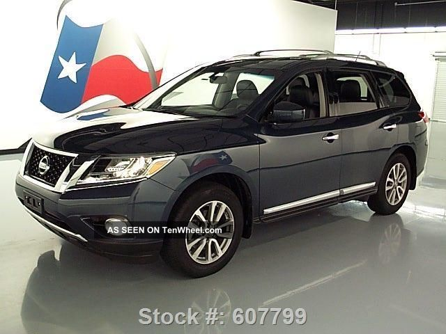 2013 nissan pathfinder sl htd tow 26k texas direct auto - 2013 nissan pathfinder interior colors ...