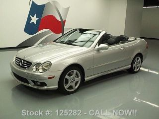 2005 Mercedes - Benz Clk500 Cabriolet Harman / Kardon 45k Texas Direct Auto photo