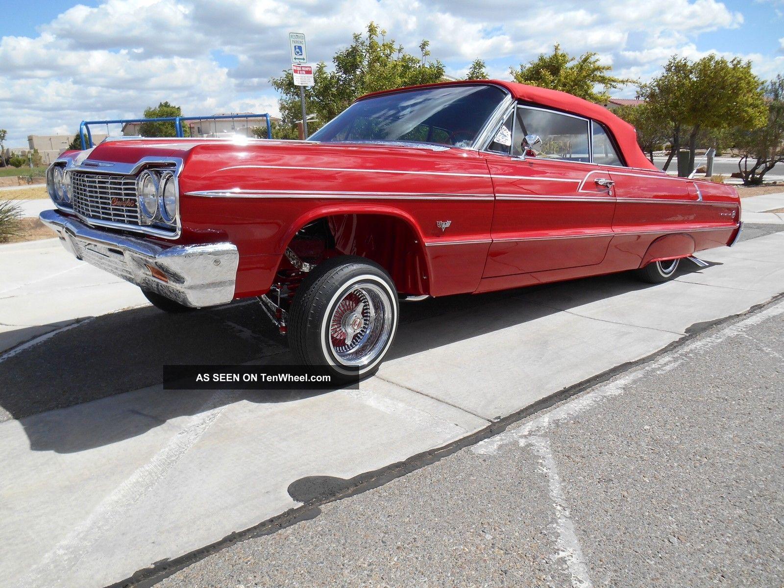 1964 Impala Convertible - Fully Engraved - Show & Go Impala photo