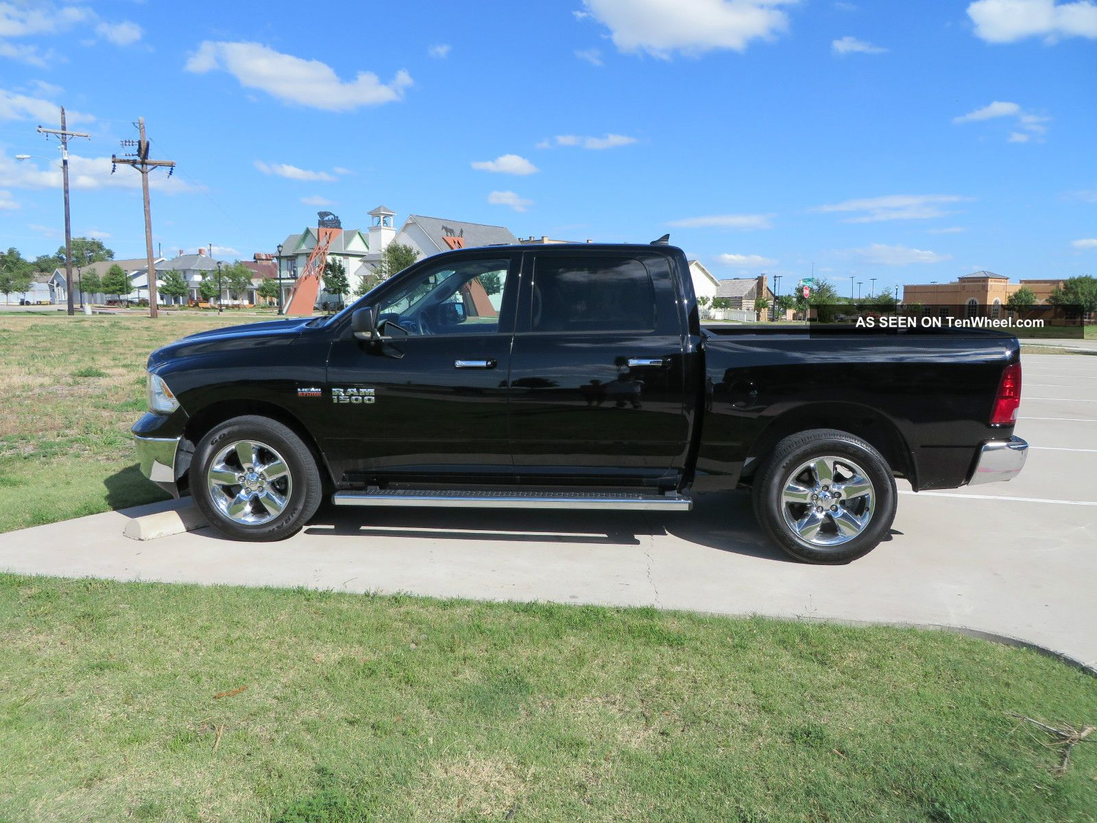 2013 ram 1500 lonestar slt crew cab pickup 4 door 5 7l fully loaded. Black Bedroom Furniture Sets. Home Design Ideas