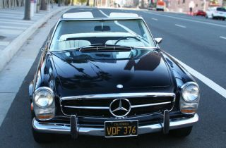 1968 Mercedes - Benz 250sl Base 2.  5l photo