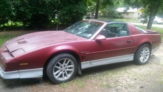 1987 Pontiac Firebird Trans Am Coupe 2 - Door 5.  0l photo