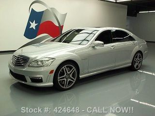 2012 Mercedes - Benz S63 Amg Bi Turbo Dvd 28k Texas Direct Auto photo