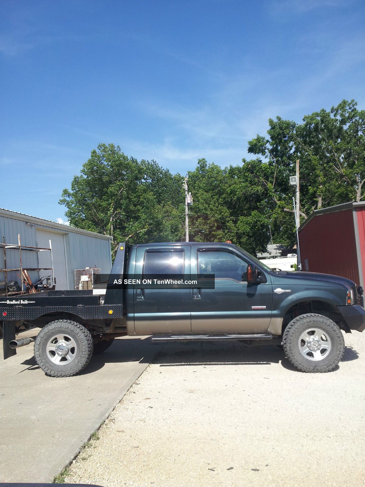 2007 Ford F250 King Ranch Diesel Rcd Lift 4x4 Off Road 4dr