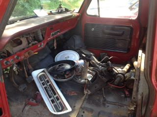 1971 F - 100 2 Wheel Drive Truck photo
