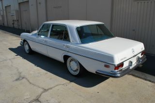 1972 Mercedes - Benz 280sel 4.  5l Fi photo