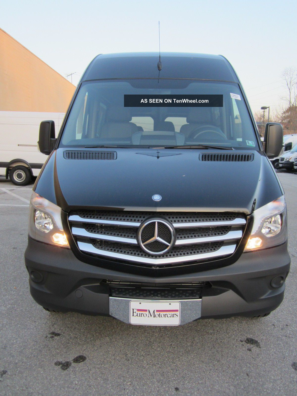 2014 mercedes benz sprinter crew van 5 passenger 144 for Mercedes benz sprinter passenger