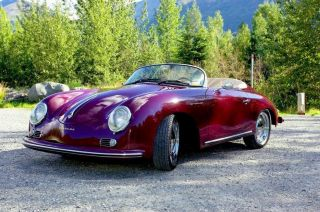 1957 Porsche 356 (beck) Replica photo