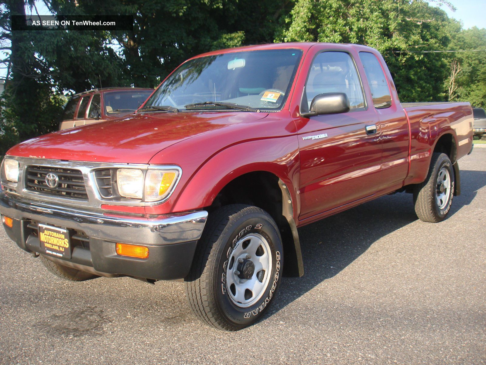 1997 Toyota Tacoma Lx Extended Cab Pickup 2 - Door 2.  7l Auto 4x4 No Rust Tacoma photo